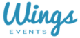 Wings Events Logo