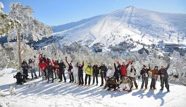 séjour alpes hiver séminaire offsite balade en raquettes