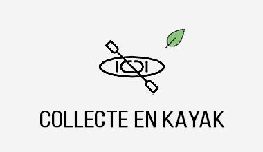 activité séminaire offsite action collective de collecte de déchets en kayak surf rider