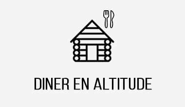 séminaire diner en restaurant d'altitude dans les alpes