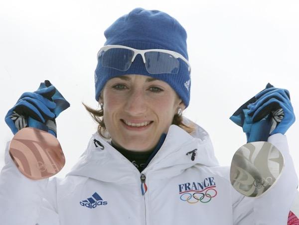 marie-laure brunet conférencière biathlète médaillée olympique