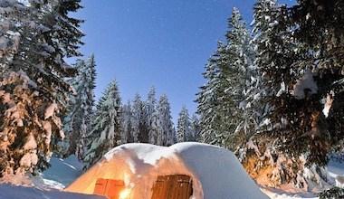 séminaire soirée insolite igloo dans les alpes annecy